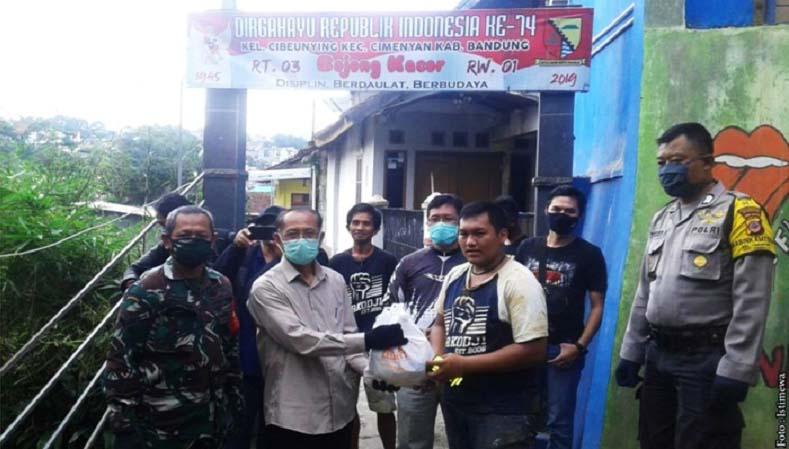 JBN Berikan Bantuan pada Wartawan Terdampak Longsor