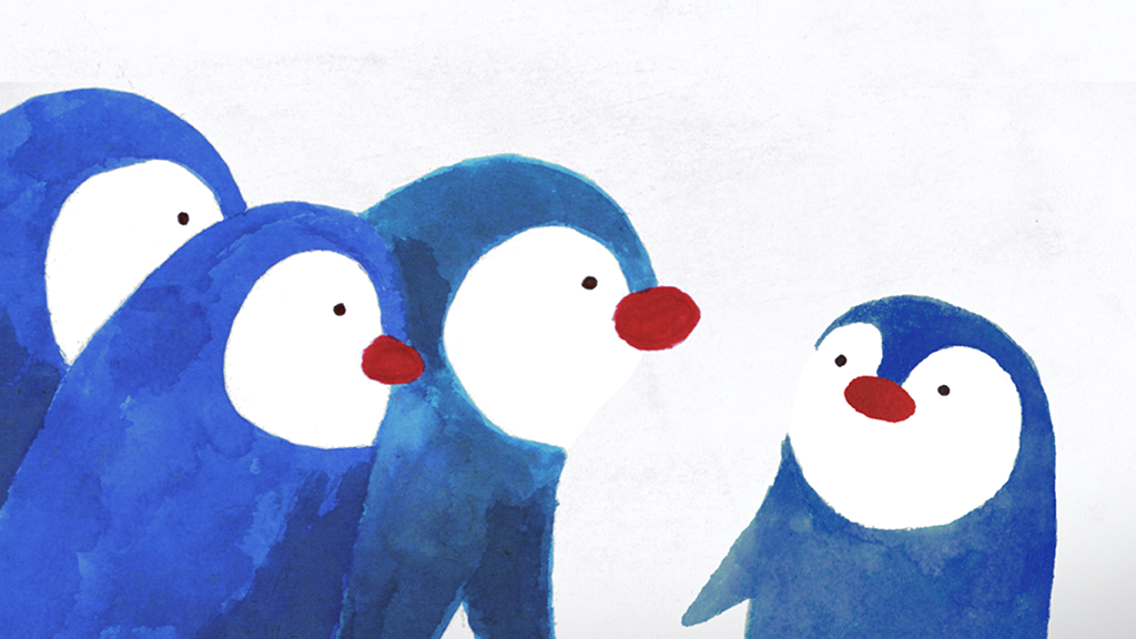 Orpheus the Penguin still - jen haugan animation