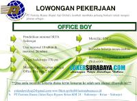 Open Recruitment at PT. Fastra Buana (kapal Api Global) Sidoarjo Desember 2019
