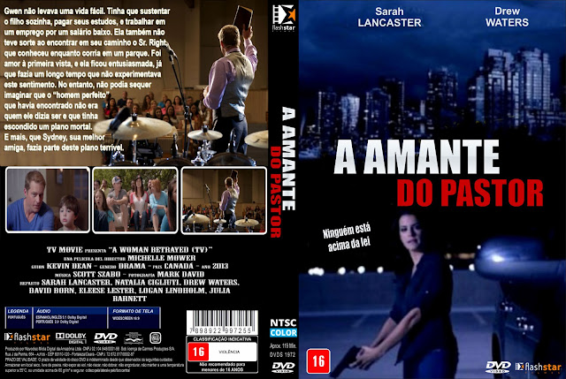 Capa DVD A Amante Do Pastor