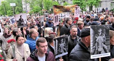 Украина отметила 9 мая без существенных нарушений общественного порядка