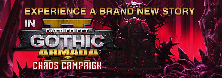 Battlefleet Gothic Armada 2: Chaos Campaign Expansion (new DLC release)