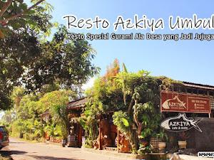 Resto Azkiya Umbulsari, Resto Spesial Gurami Ala Desa yang Jadi Jujugan Favorit