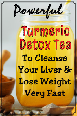 powerful turmeric detox tea to cleanse your liver and lose