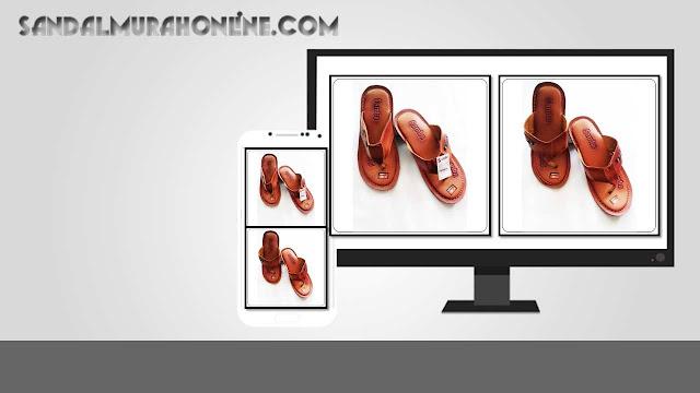 Sandal Levis Sol Kuat dan Awet  Bengkel Sandal Kulit Imitasi Tasikmalaya