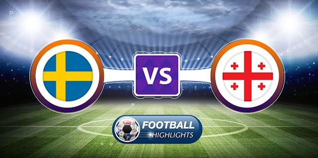 Sweden vs Georgia – Highlights