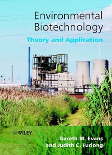 Environmental Biotechnology - Theory and Application Book PDF