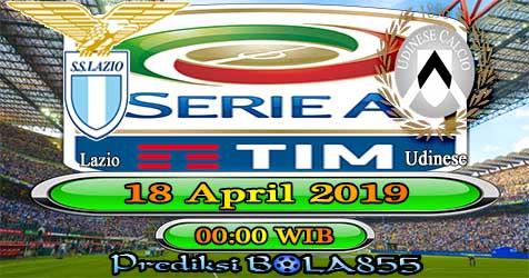 Prediksi Bola855 Lazio vs Udinese 18 April 2019