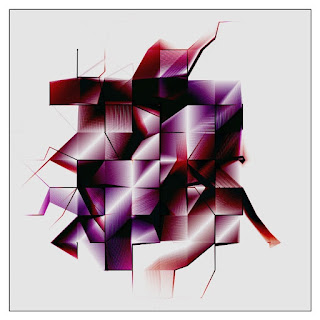 An example image of generative art made with colored blocks and lines.
