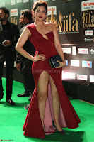 Natasha Nebasha in a Leg Slit Sleeveless Stunning Red Gown at IIFA Utsavam Awards 2017 048.JPG