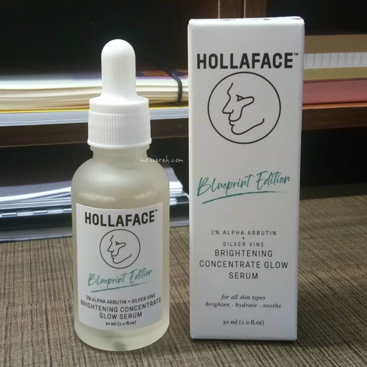 Hollaface Brightening Concentrate Glow Serum (2% Alpha Arbutin + Silver Vine) Review