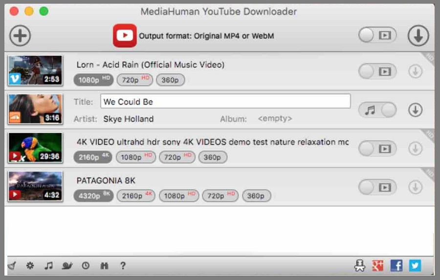 mediahuman youtube to mp3 converter download softonic