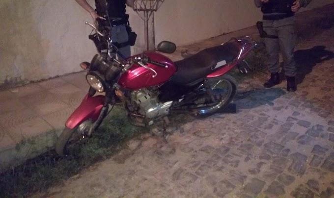 Polícia Militar recupera mais uma moto roubada em Caxias