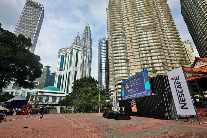 Nescafe M-Junction Drive-In Cinema, Kuala Lumpur