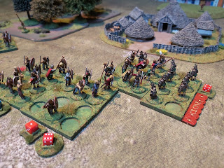 Then the elite warriors take a turn to pummel the remaining Romans