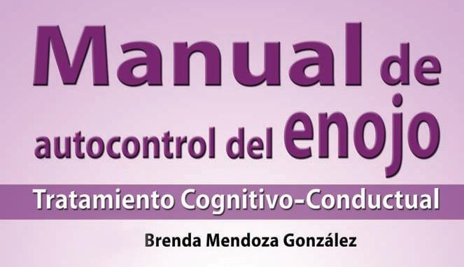 Manual de autocontrol del enojo, tratamiento cognitivo conductual. PDF