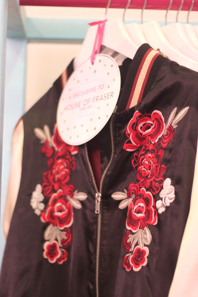 embroidered jacket highstreet fashion blog