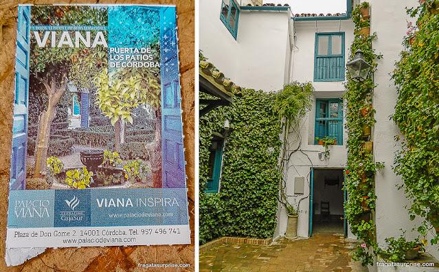 Ingresso para os Pátios de Viana, Córdoba
