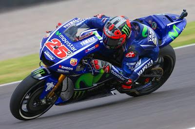 Vinales Tercepat di FP2 GP Argentina, Marquez Kedua