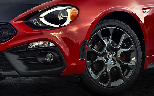 Fiat 124 Elaborazione Abarth Wheel