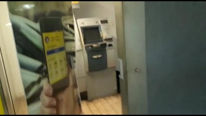 TENSO - Bandidos explodem caixa eletrônico em Mercado Central de Caxias