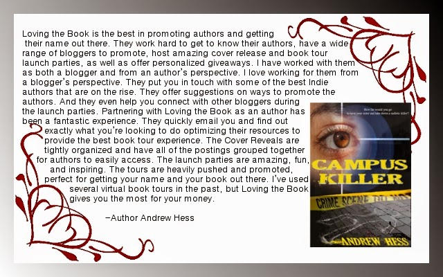 http://www.amazon.com/Campus-Killer-Detective-Ryan-Book-ebook/dp/B00PI1OODA/ref=sr_1_1?s=digital-text&ie=UTF8&qid=1423276883&sr=1-1&keywords=andrew+hess