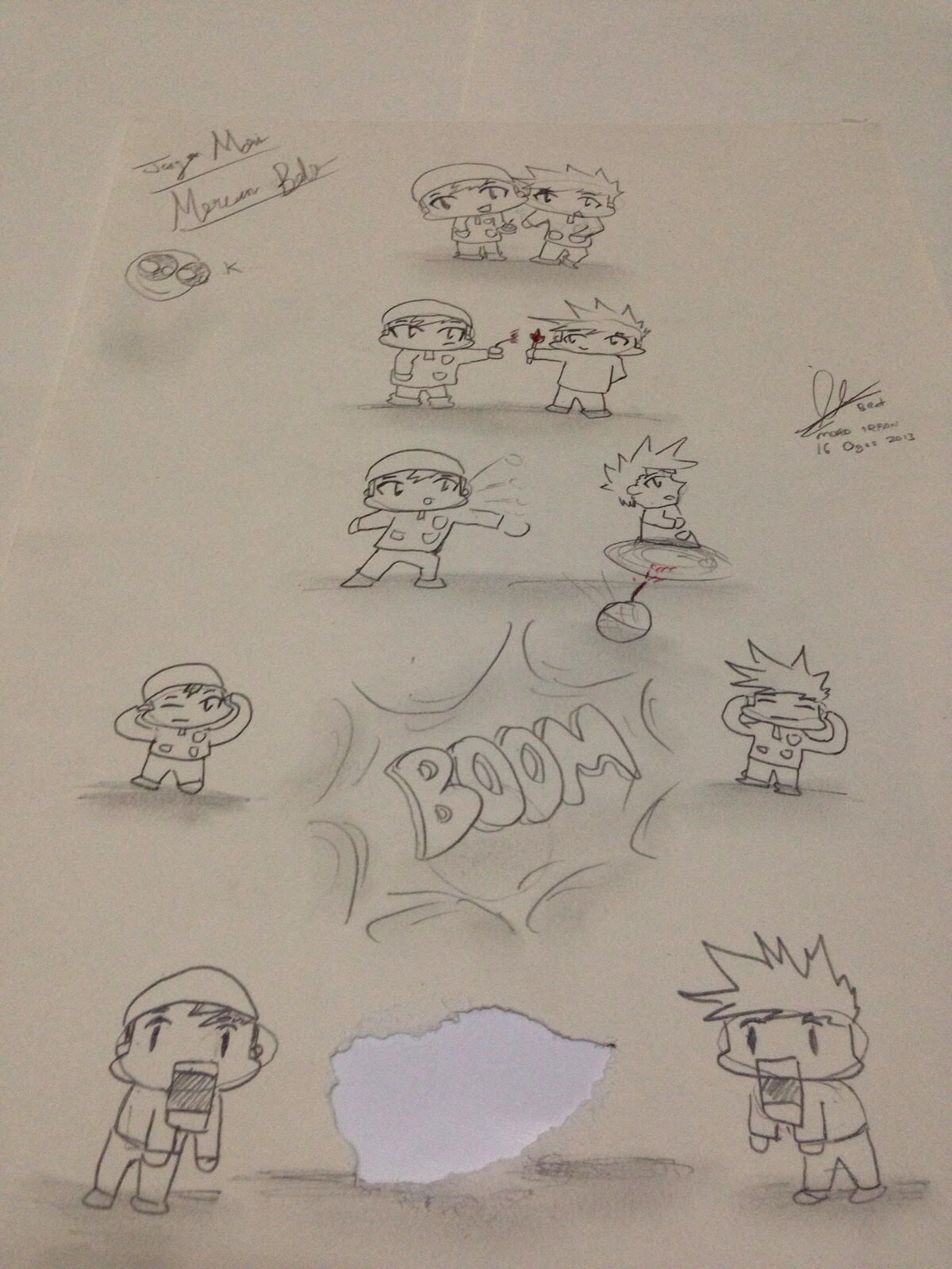 Kertas Lukis : kertas, lukis, Anak-anak, Kertas, Lukis