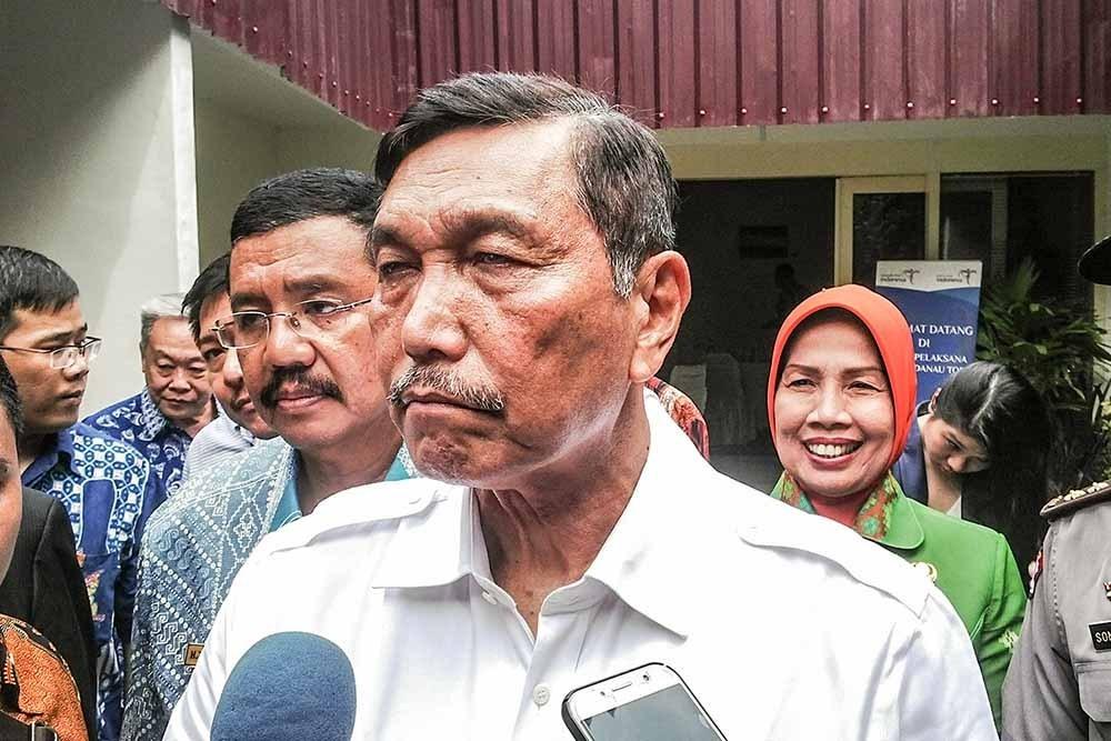 Protes Omnibus Law Dimana-mana, Luhut:  Jokowi Dapat Pujian Washington