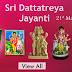 Celebrate Dattatreya Jayanthi With Giri