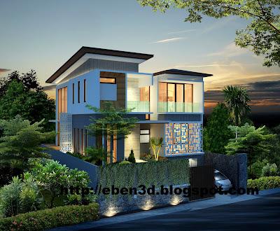 Jasa 3D Rumah Tinggal