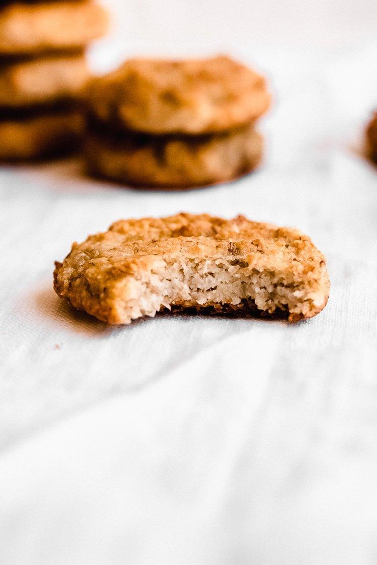 Banana Bread Cookies (gluten free, vegan)
