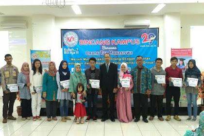 Pendaftaran Mahasiswa Baru (AMIK BSI Sukabumi-Jawa Barat) 2021-2022
