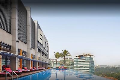 Rooftop Pool Aloft Hotel Kuala Lumpur