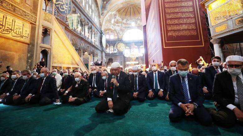 Αγία Σοφία: Έντονες αντιδράσεις στη Θράκη για τη μετατροπή σε τζαμί