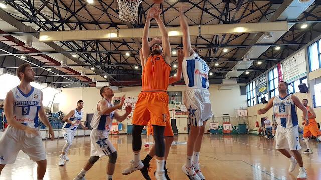 56-74 νίκησε την Ένωση Ιλίου ο  Οίακας Ναυπλίου