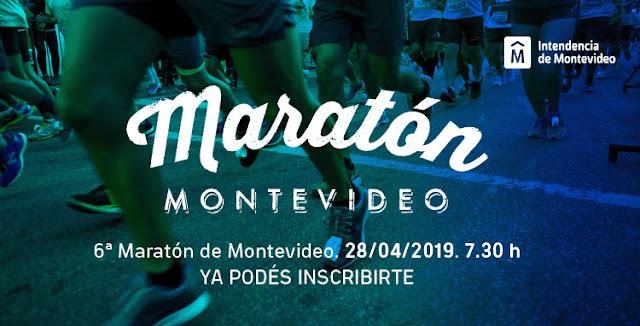 42k 21k 10k Maratón de Montevideo (Uruguay, 28/abr/2018)