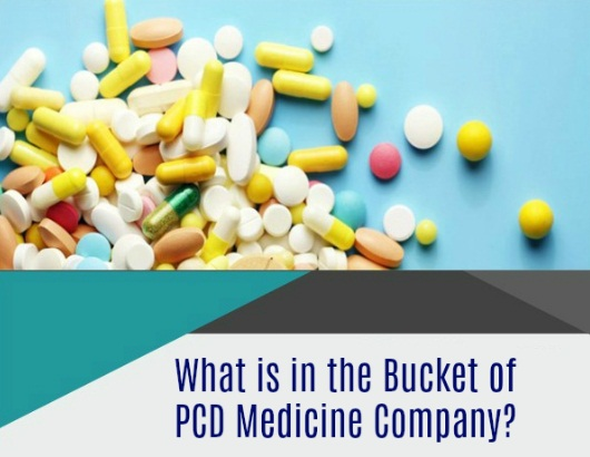 What's in the Bucket of PCD Medicine Company?