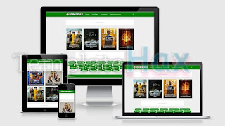 DownloadHub - Premium Movies Blogger Template
