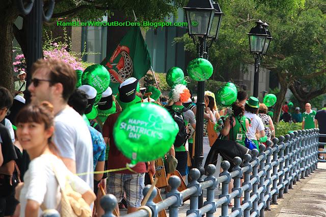 Street Parade, St Patrick's Day Street Festival, Singapore