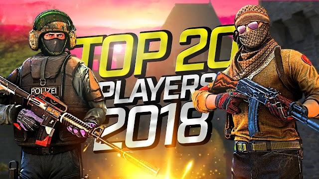ムービー :「CS:GO - Top 20 Players of 2018 (Fragmovie)」