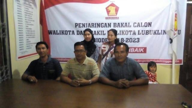 Partai Gerindra Buka Pendaftaran Balon Wako/Wawako 2018-2023