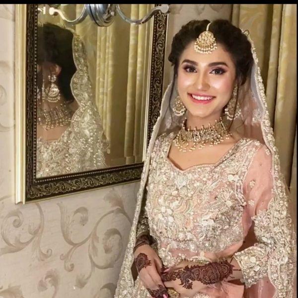 Nimra Ali First Bridal Shoot