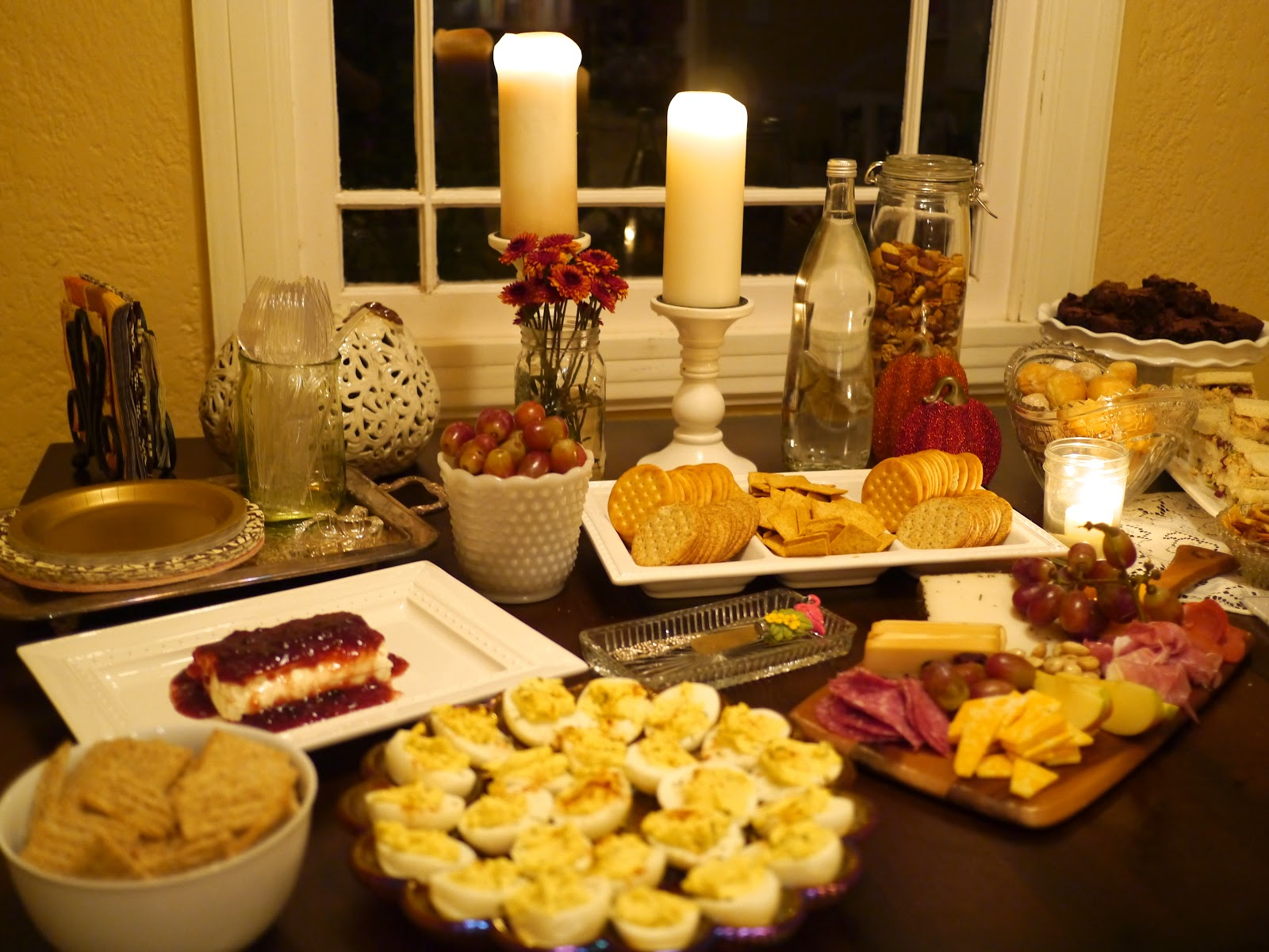 my annual girl's wine & cheese party. - The Tale of Two ...