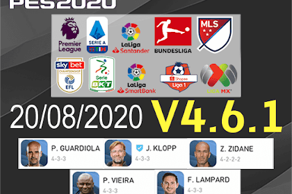 PES Mobile 2020 UCL FULL LICENSED | TRIZR PATCH V4.6.1