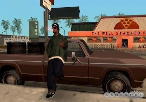 تحميل لعبه جاتا سان اندرس GTA San Andreas كامله للكمبيوتر الاصلية