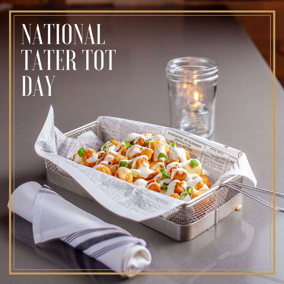 National Tater Tot Day Wishes Photos