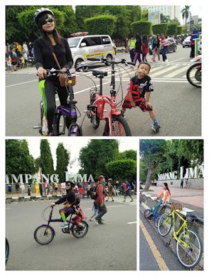 sepeda simpang lima semarang