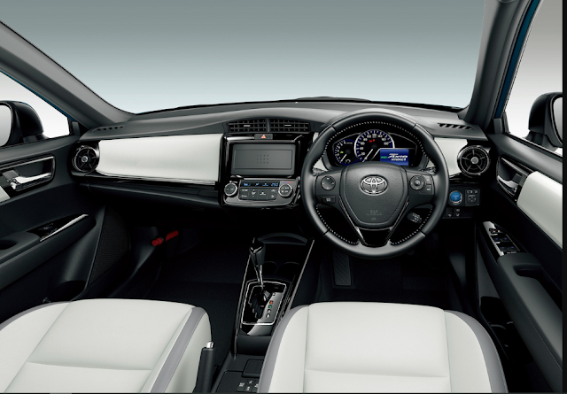 Toyota Axio 2019 Front Cabin View