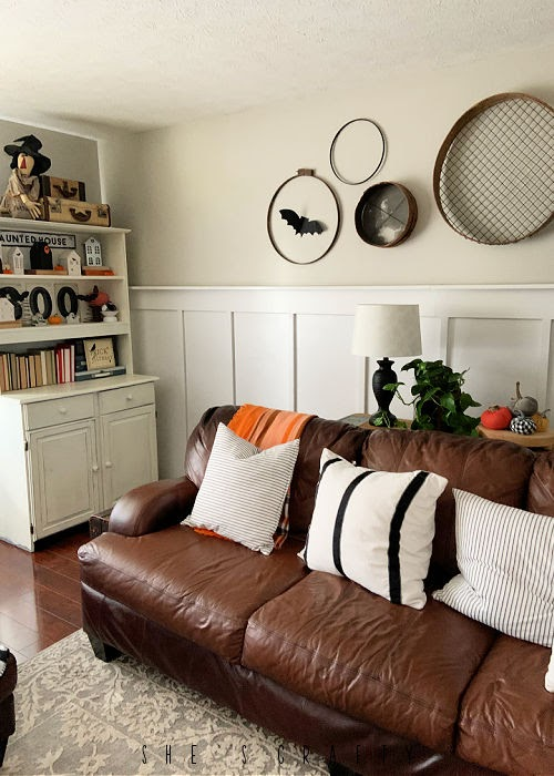 Halloween Home Decor - living room