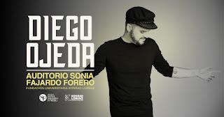 Concierto de Diego Ojeda en Bogotá